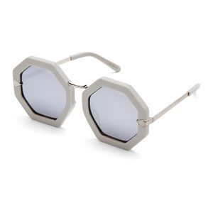 Karen Walker 'Moon Disco' octagonal sunglasses
